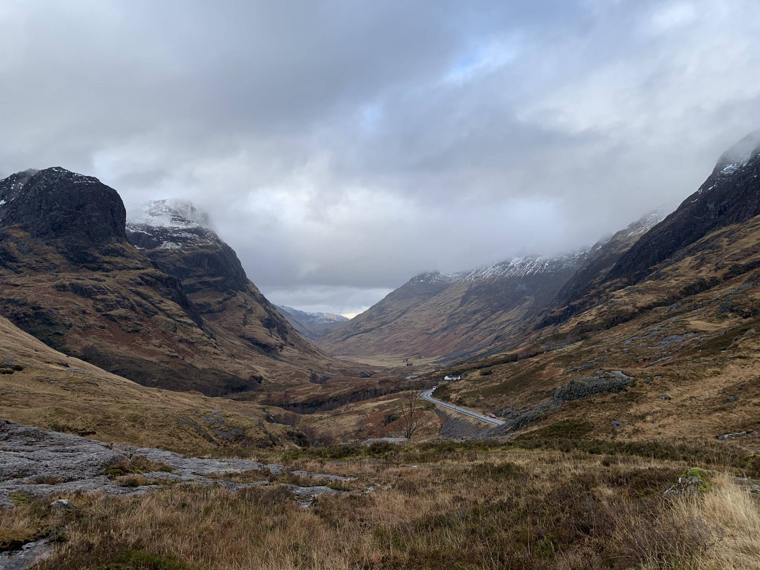 The awesome Three Sisters of Glencoe where Virginie and Yann chose to be married