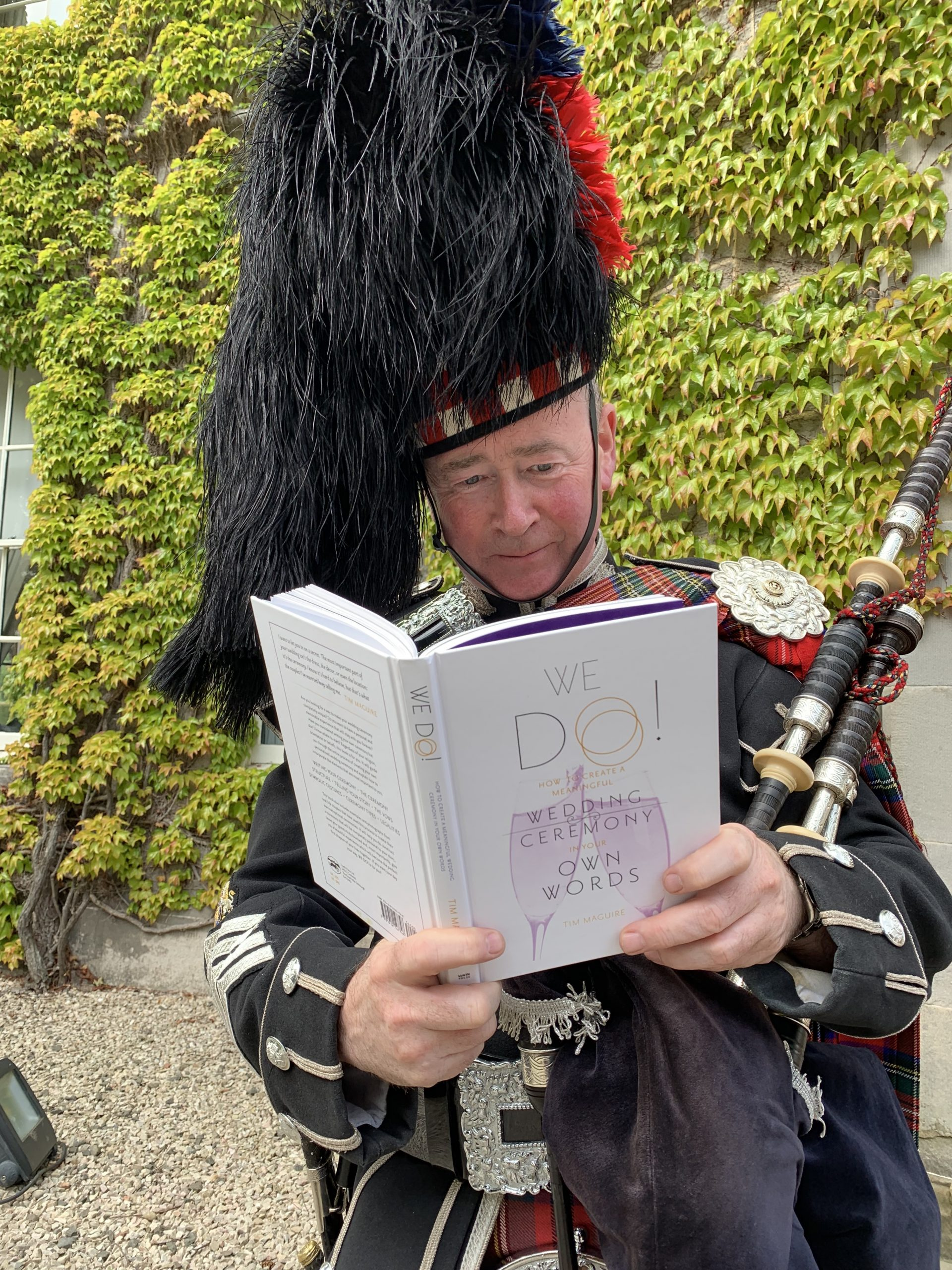 The Pickled Piper at Carlowrie Castle